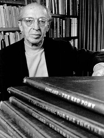 Aaron Copland, a very important presence in Alberto Ginastera's life