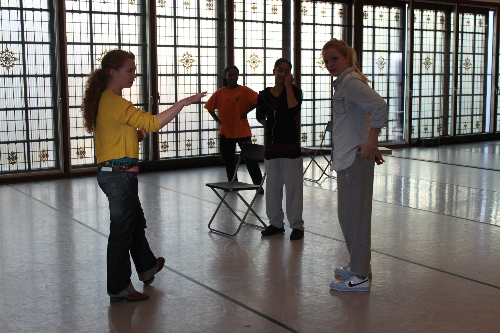 Annemarie de Bruijn teaching