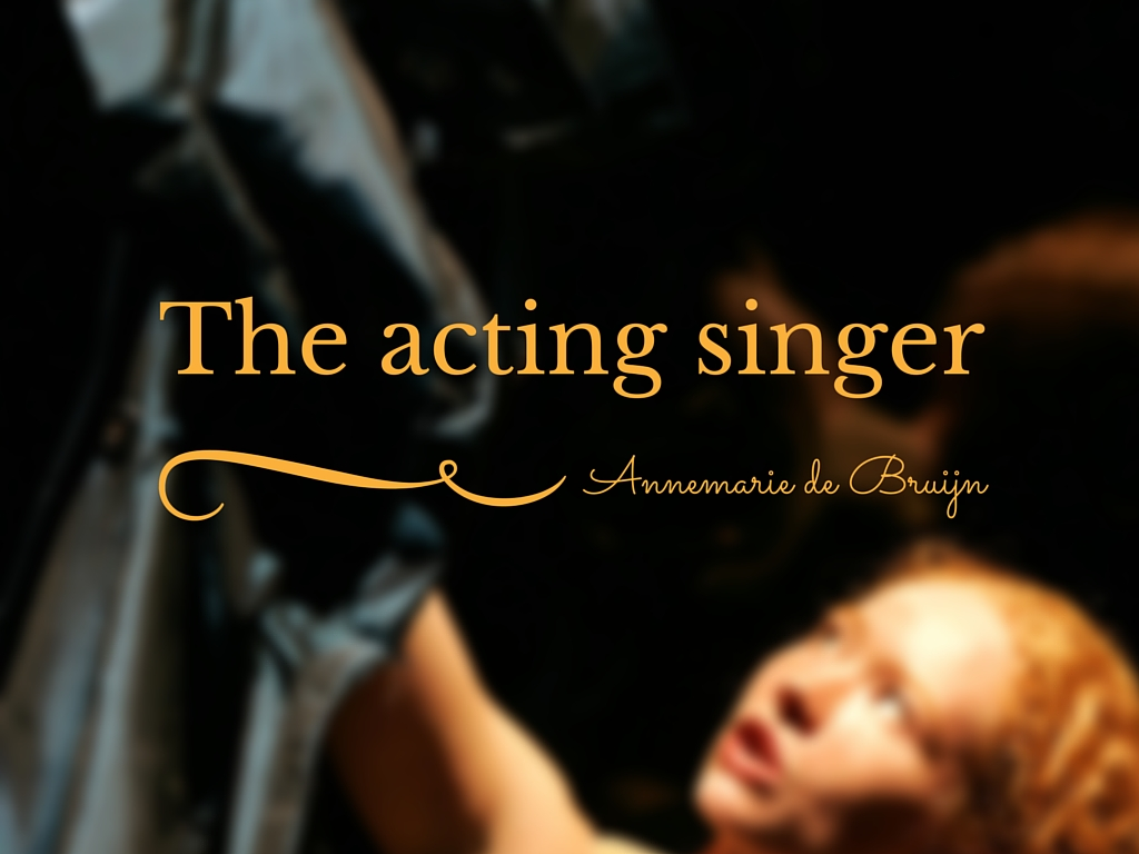 The acting singer