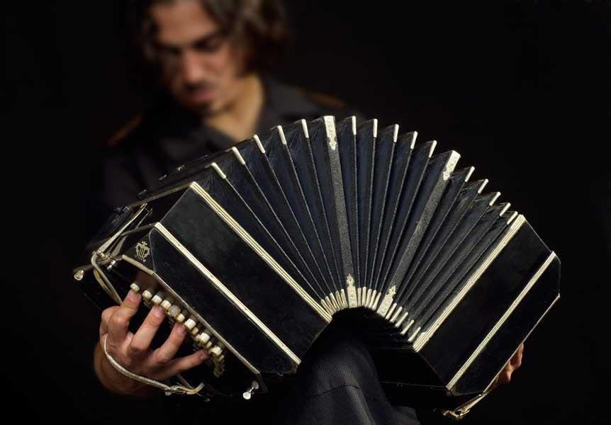 Buenos Aires - Bandoneon player