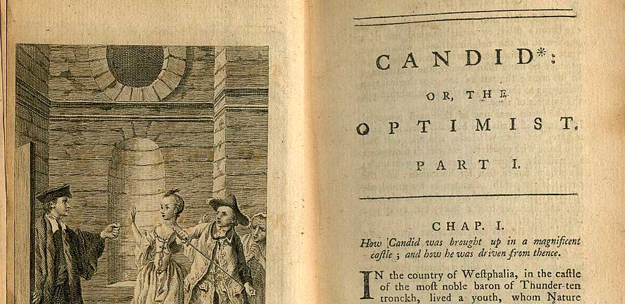 Candide, music by L. Bernstein after Voltaire