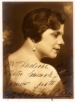 Gilda dalla Rizza, Puccini's favorite soprano