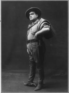 Enrico Caruso in La Fanciulla del West, 1911