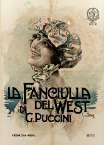 Fanciulla del West - film poster by Spellani