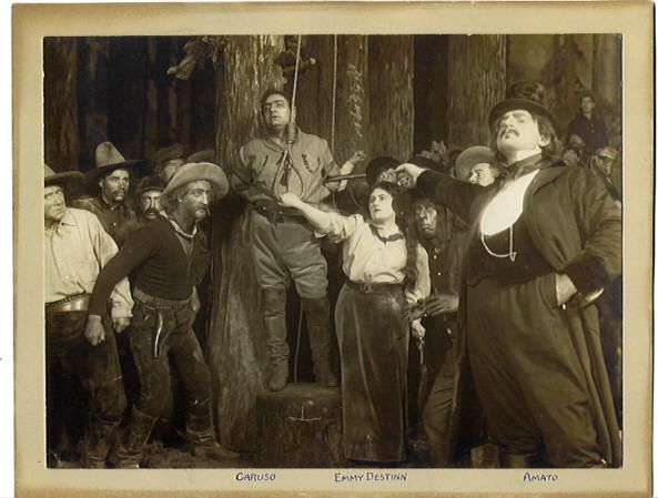 La Fanciulla del West, Premiere - scene from Act 3