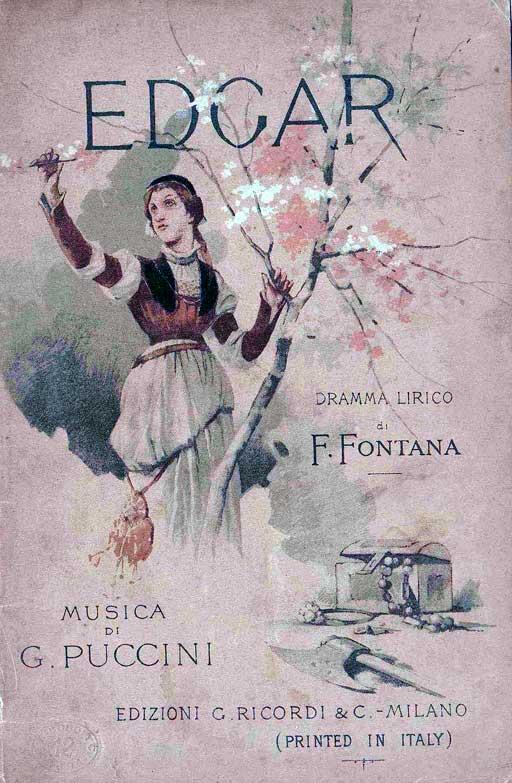 Puccini Edgar - poster