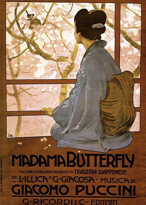 Madama Butterfly - Leopoldo Metlicovitz, 1904