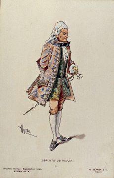 Manon Lescaut: Costume Geronte - Act II